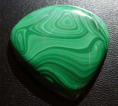 Hình: đá lông công – malachite