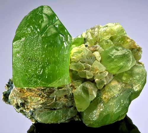 tinh thể đá Peridot
