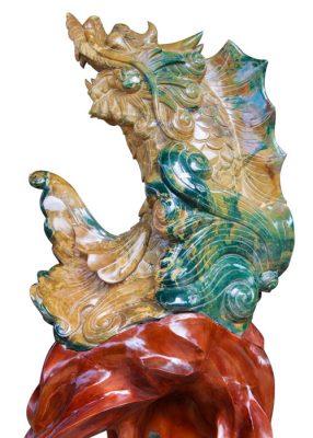 Hình: Cá chép Hóa rồng