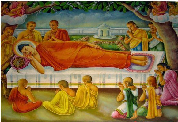 Phật thích ca niết bàn
