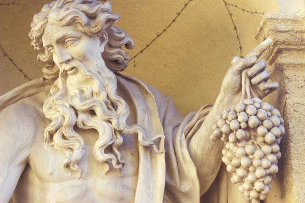 Thần Rượu Nho Dionysus