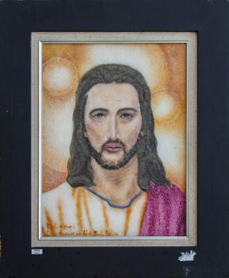TRANH ĐÁ QUÝ CHÚA JESU 35*55