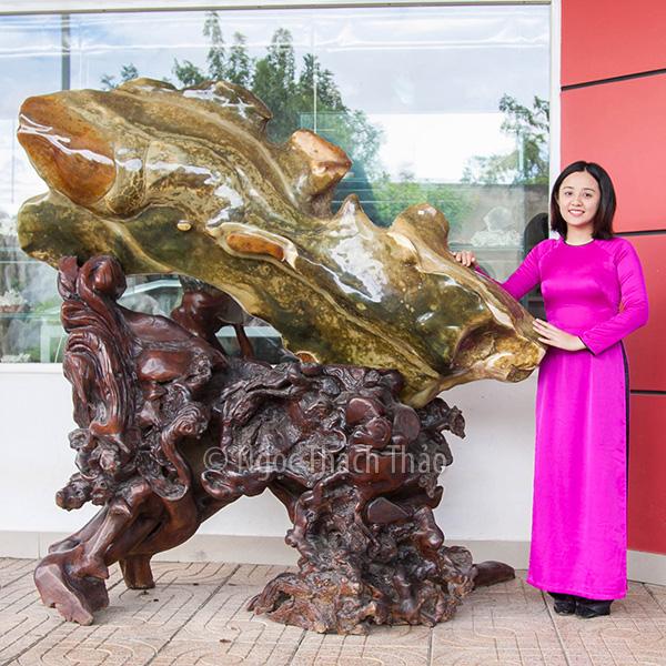 Ý nghĩa của cá chép vượt vũ môn trong điêu khắc, tượng phong thủy
