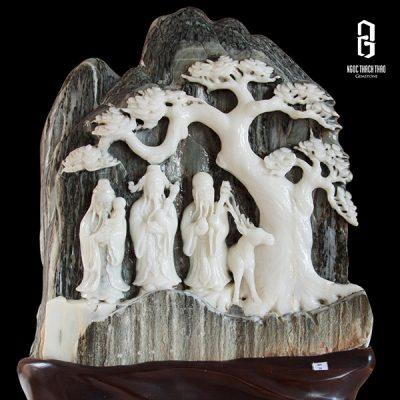 tượng tam đa đá tuyết sơn