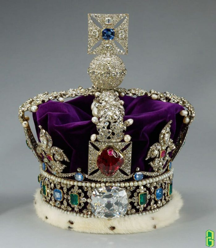 Vương miện Hoàng gia Anh - The Princes Black Ruby