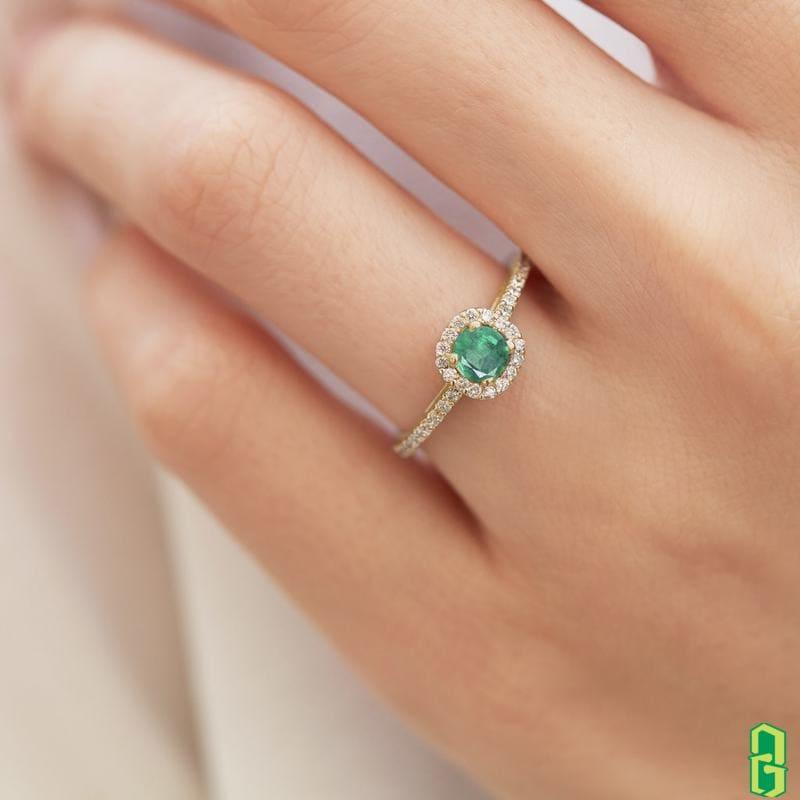 Ý nghĩa phong thủy của đá Emerald