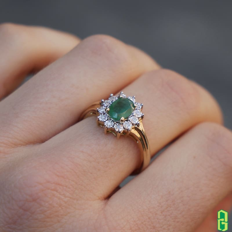 Công dụng đối với sức khỏe của đá ngọc lục bảo - Nhẫn emerald