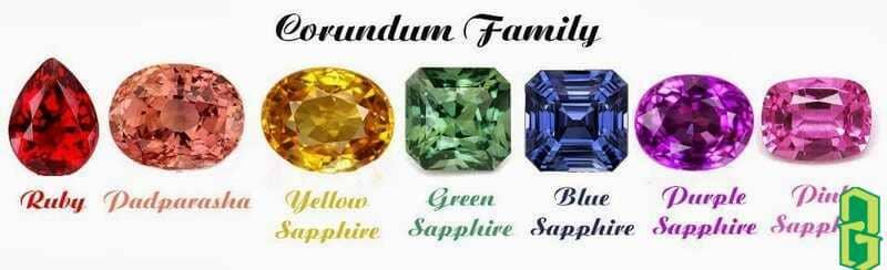 Sự Nổi Tiếng Của Ruby Và Sapphire Trong Giới Đá Quý