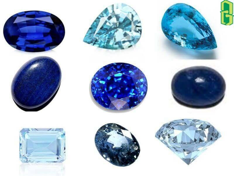 Đá Tanzanite và các loại đá quý màu xanh khác