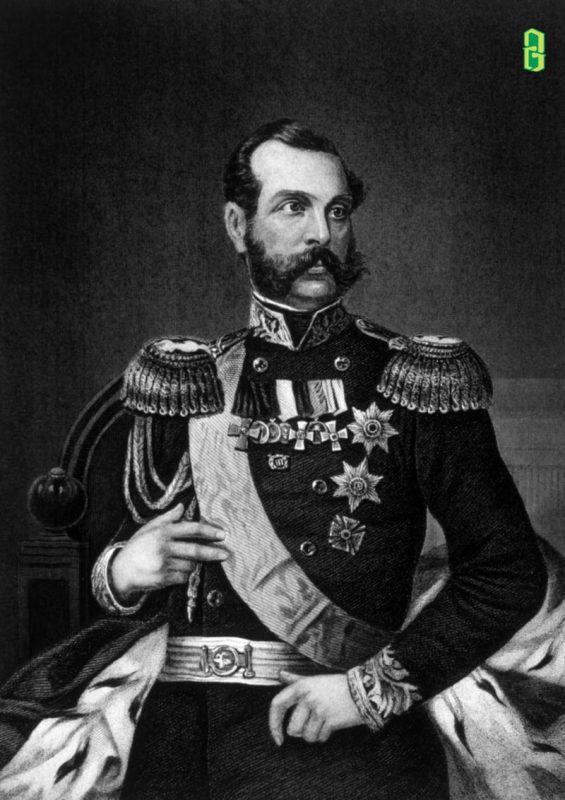 Alexandar Nicholavich - Sa hoàng của Nga - Lịch Sử Về Alexandrite