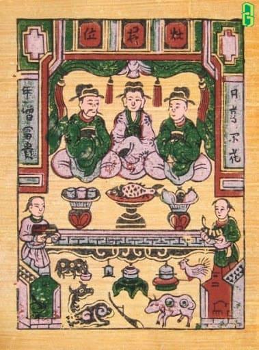 Táo thần còn gọi là Táo vương, Táo quân, Táo ông, Táo bà… đó là vị thần cai quản việc ăn uống trong truyền thuyết