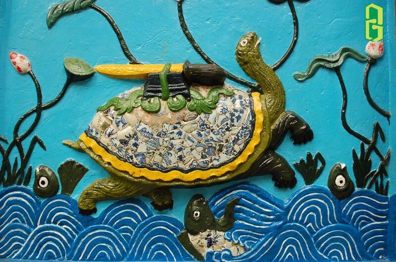 Hình Ảnh Rùa Trong Tâm Linh Việt - Rùa Thần Kim Quy