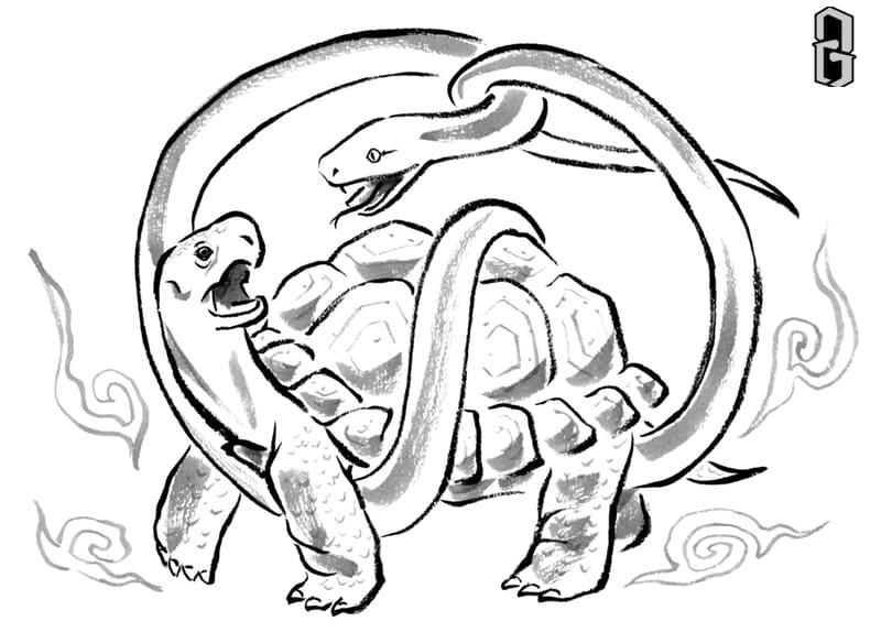 Huyền Vũ (Rùa Rắn Đen)