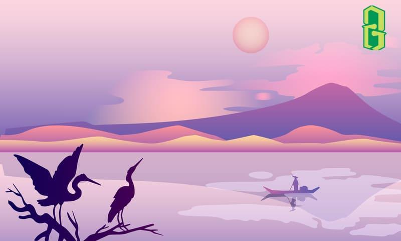 Cách Bày Trí Tranh Và Tượng Chim Hạc Trong Phong Thủy Nhà Ở