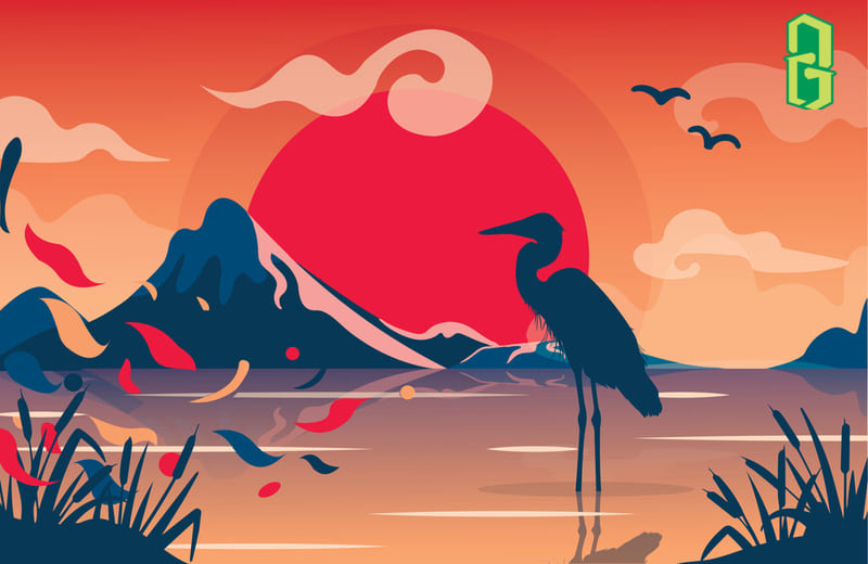 5 Ý Nghĩa Của Chim Hạc Trong Phong Thủy